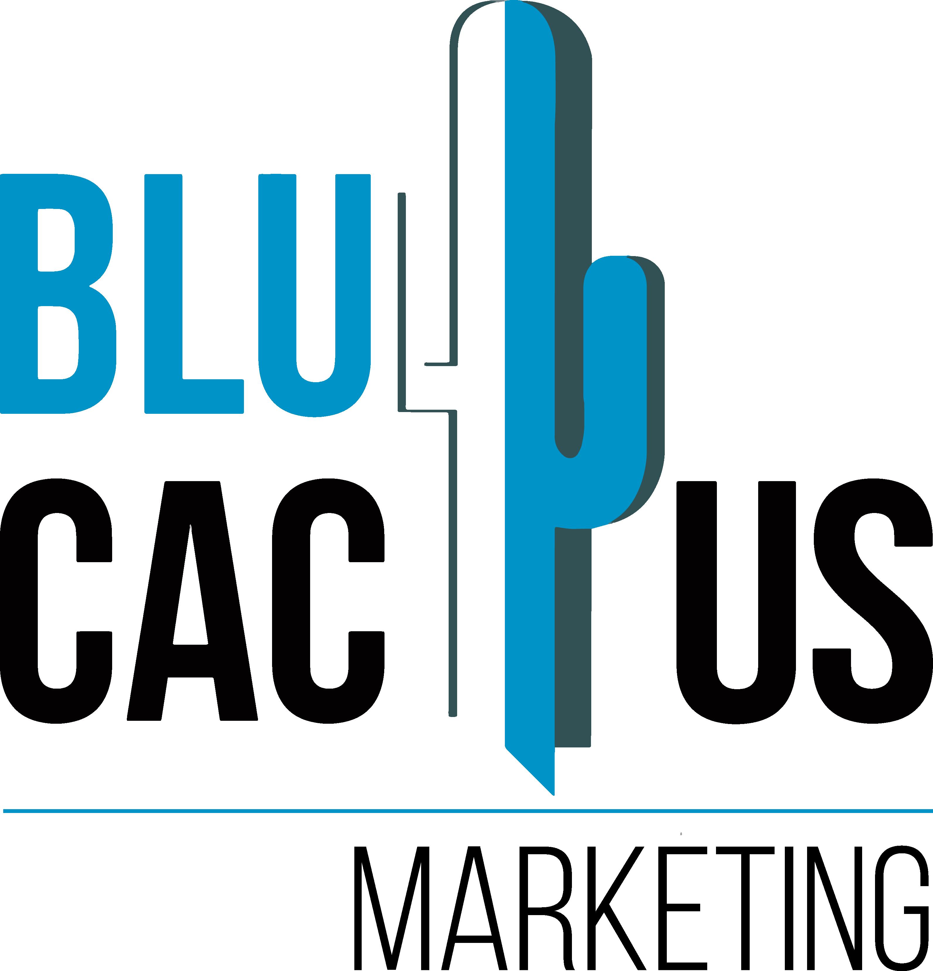 BluCactus Logo Black