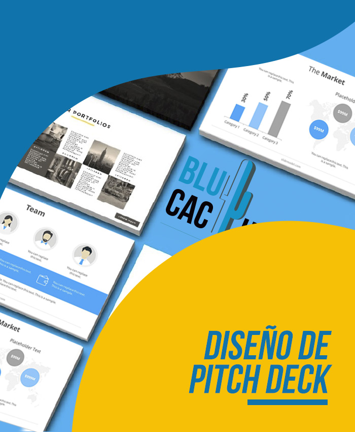 BluCactus Agencia de Diseño de Pitch Deck