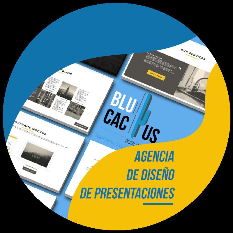 BluCactus Diseño de Presentaciones Agencia de diseño de presentaciones