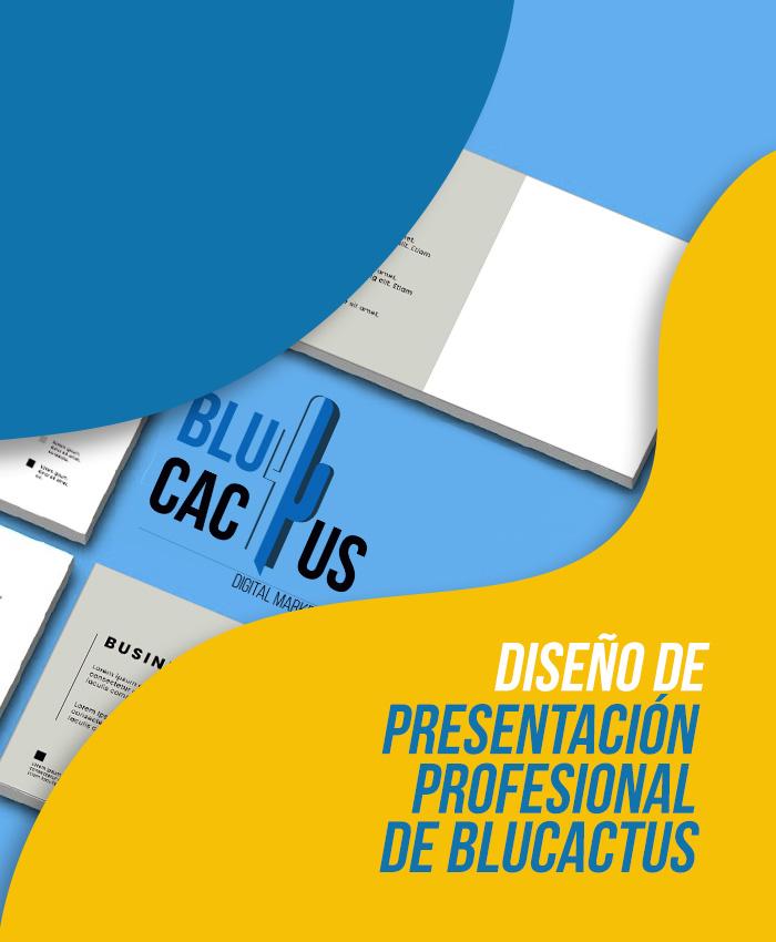 BluCactus Diseño de Presentaciones Diseño de presentación profesional de BluCactus