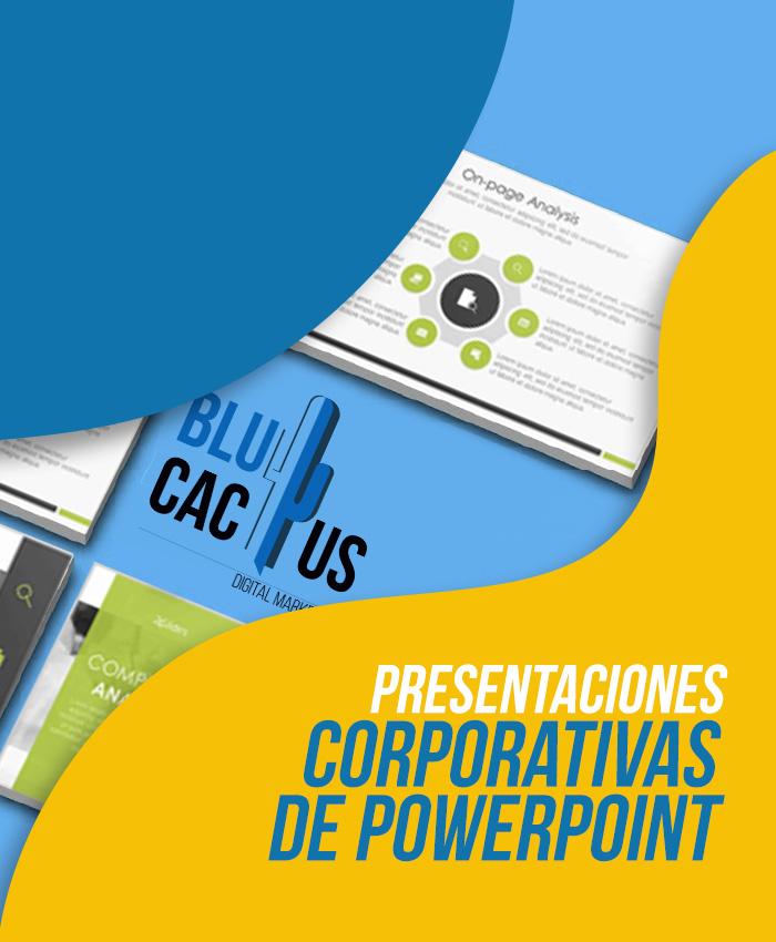 BluCactus Diseño de Presentaciones Corporativas de PowerPoint