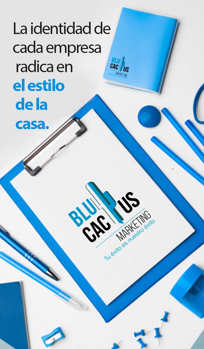Blucactus La identidad de cada empresa radica en el estilo de la casa