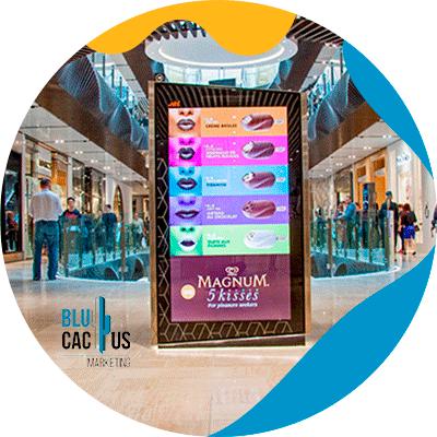 BluCactus - indoor advertaising