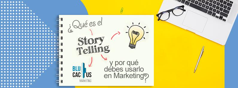 BluCactus - que es el storytelling - titulo