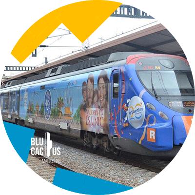 BluCactus -¿Qué es OOH y cuántos tipos hay? - trenes