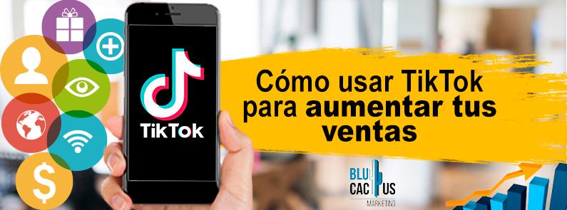 BluCactus - ¿Cómo usar TikTok para Aumentar tus Ventas? - titulo