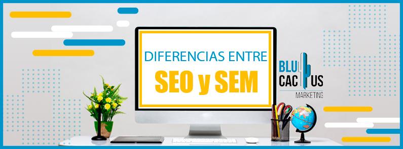 BluCactus - Diferecias entre SEO y SEM - portada