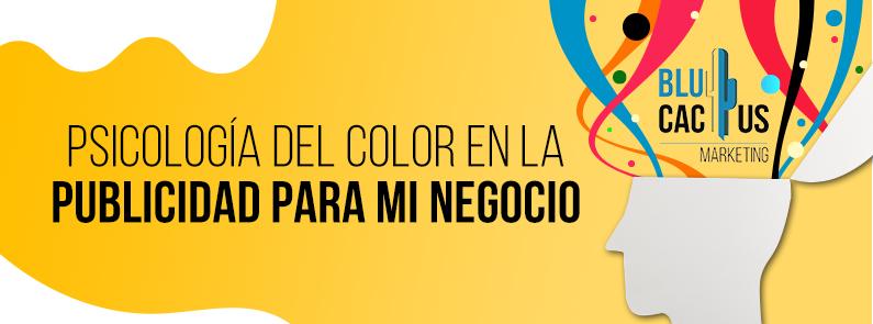 BluCactus - Psicología del color en la Publicidad - titulo