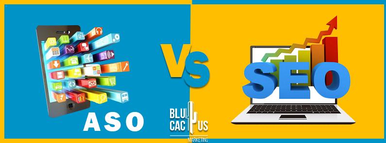BluCactus - ASO VS SEO - titulo