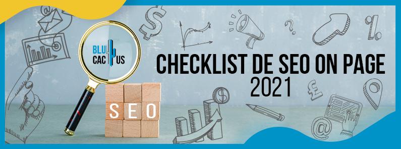 BluCactus - Checklist de SEO On Page - title