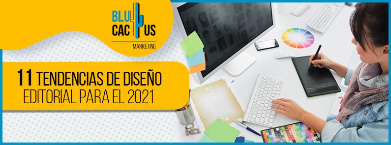 BluCactus - tendencias de diseño editorial - titulo