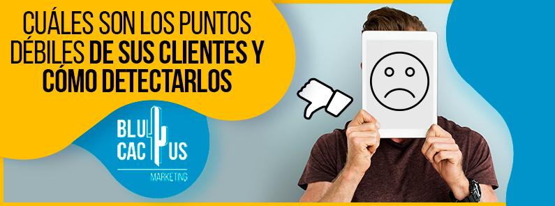 BluCactus - puntos débiles de sus clientes